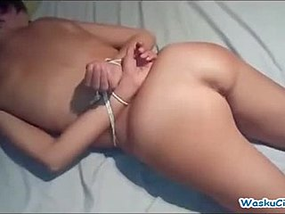 Watching amature wife