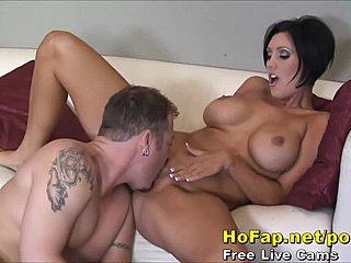 Pussy rasierte Titten Glamour milfs Filme