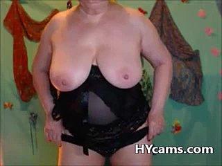 Reife Fett Webcam Masturbation