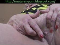 Grandmother, Blonde, Masturbation, Big ass, Pussy, Solo, Hairy, Granny, Beaver, Amateurs, Ass