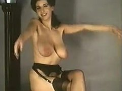 Antique, Vintage, Boobs, Undressing, Striptease, Retro, Tits, Clothes ripped, Big tits