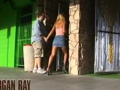 Blonde, Sucking, Facial, Boobs, Milf, Jizz, Interracial, Group, 3 some, Blowjob, Oral, Cock, Tits, Bathroom, Big tits