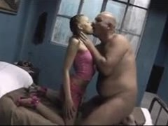 Old and young, Teen, Young, Old, Dad and girl, Blowjob, Amateurs, Brunette, Old man