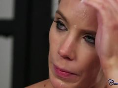 Costumes, Cosplay, Big tits, British, Backstage, Police, Boobs, Behind the scenes, European, Facial, Cum, High definition, Tits, Cum covered, Blowjob
