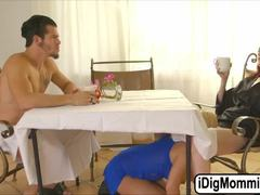 Group, Milf, Mother-in-law, Sexy, 3 some, Fucking, Boyfriend, Teen, Blowjob