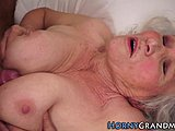 Grandmother, Hairy, Fucking, Granny, Titty fuck, Pussy, Sucking